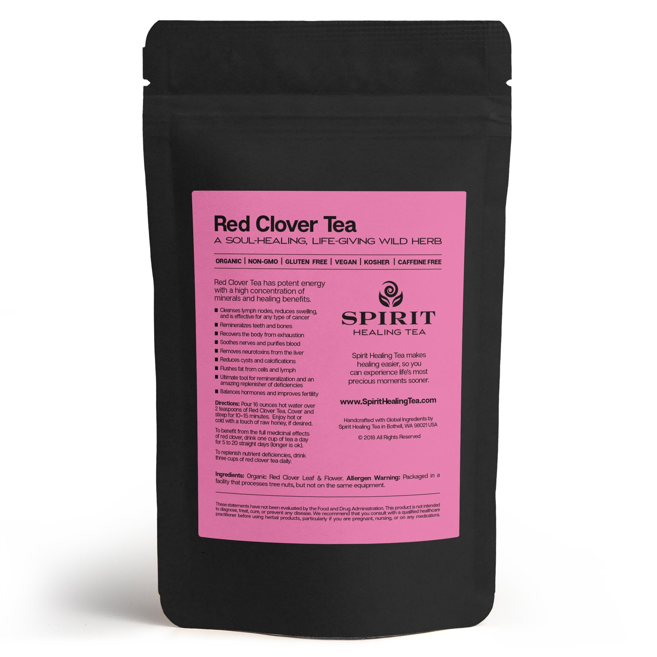 Spirit Healing Red Clover Tea