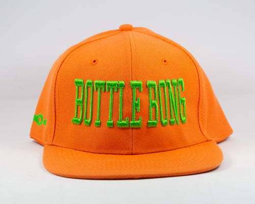 Bottle Bong Phins Up Original Snap Back Hat