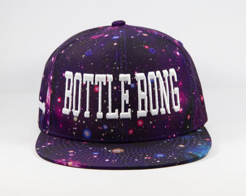 Orginal Snap Back Hat - Bottle Bong Galaxy
