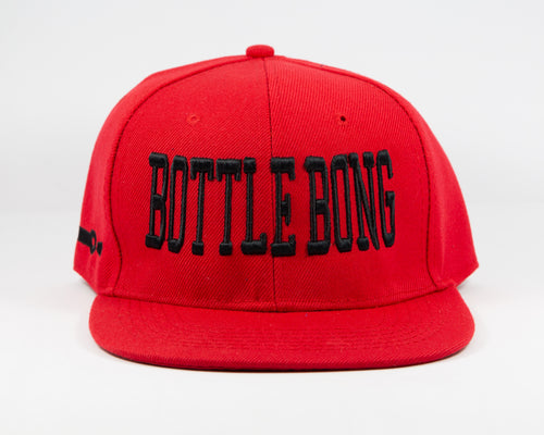 Bottle Bong Bulls Original Snap Back Hat