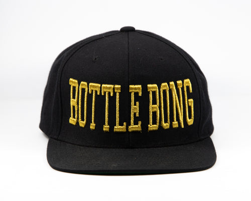 Original Snap Back Hat - Bottle Bong Golden Knight