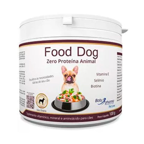 Food Dog Zero proteina Animal (100g) - Botupharma