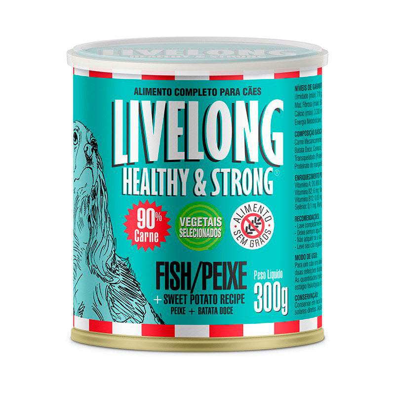 Livelong Peixe para Cães - Livelong