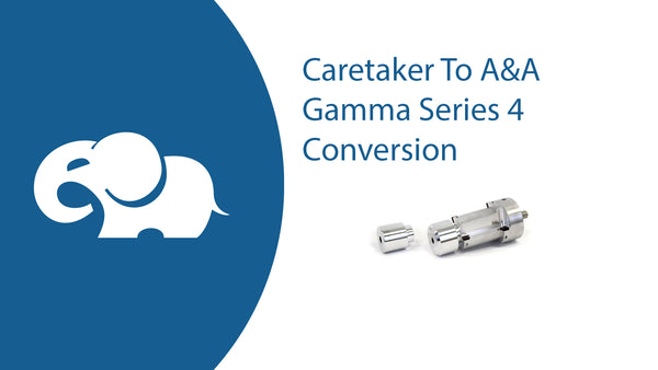 Converting a Caretaker System into an A&A Gamma Series 4 System