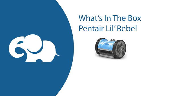 What's In The Box: Pentair Lil Rebel Suction Side Above Ground Pool Cleaner