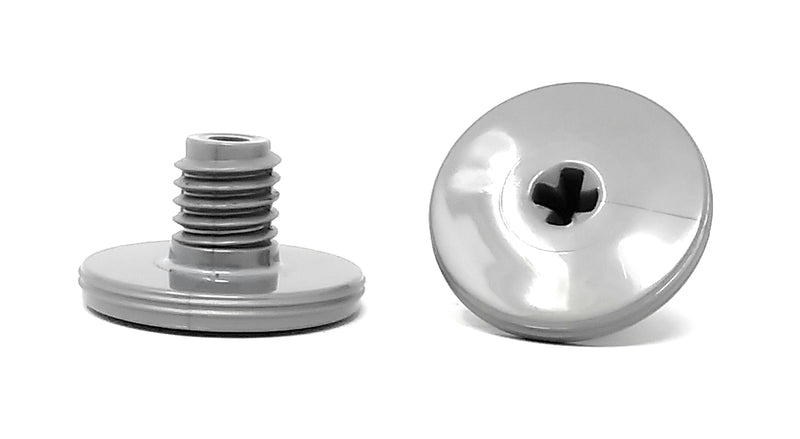 Polaris Quattro Sport Retainer Screw, 2/PK, Silver - ePoolSupply