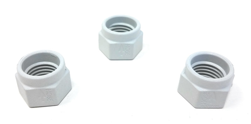 Hayward TriVac 700/500 Mender Nut Kit - White - 3 Pack