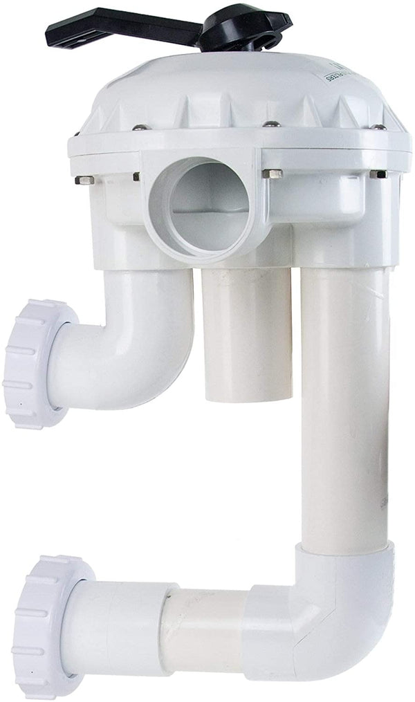 Pentair 2-Inch HiFlow Valve with Plumbing Replacement Pool and Spa D.E. Filter