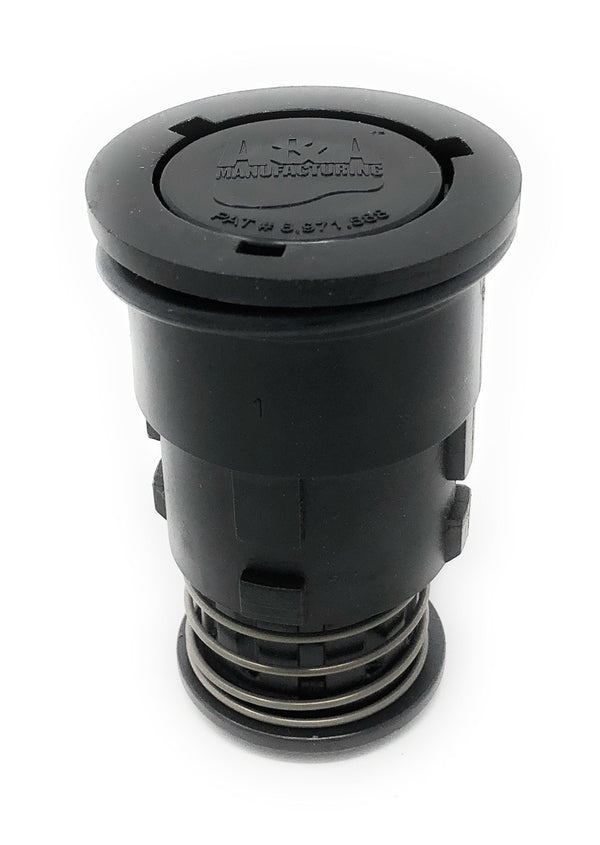 A&A Gamma Series 2 Adjustable Flow Pop Up Head (Black) - ePoolSupply