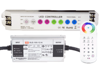 CMP Brillant Wonders LED Remote and Controller