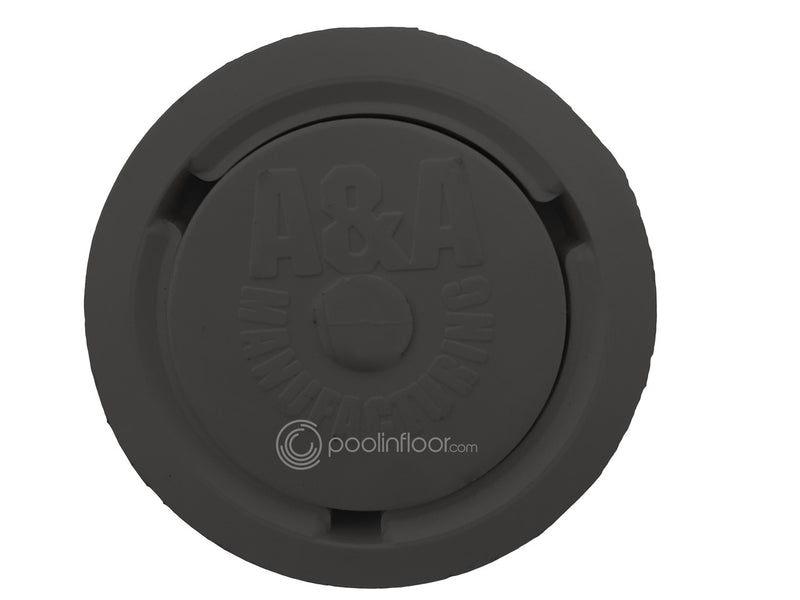A&A Style 2 Low Flow Pop Up Head (Black) - ePoolSupply