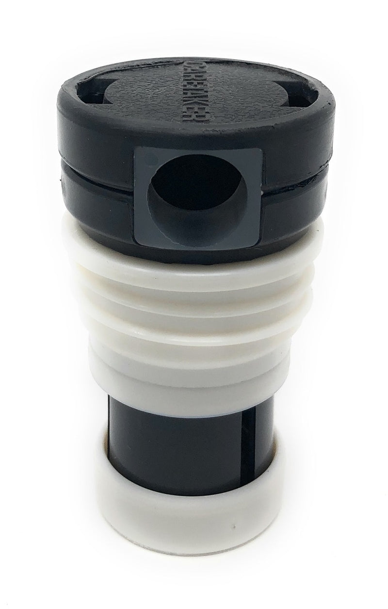 Caretaker 99 High Flow Threaded Cleaning Head (Jet Black) - ePoolSupply