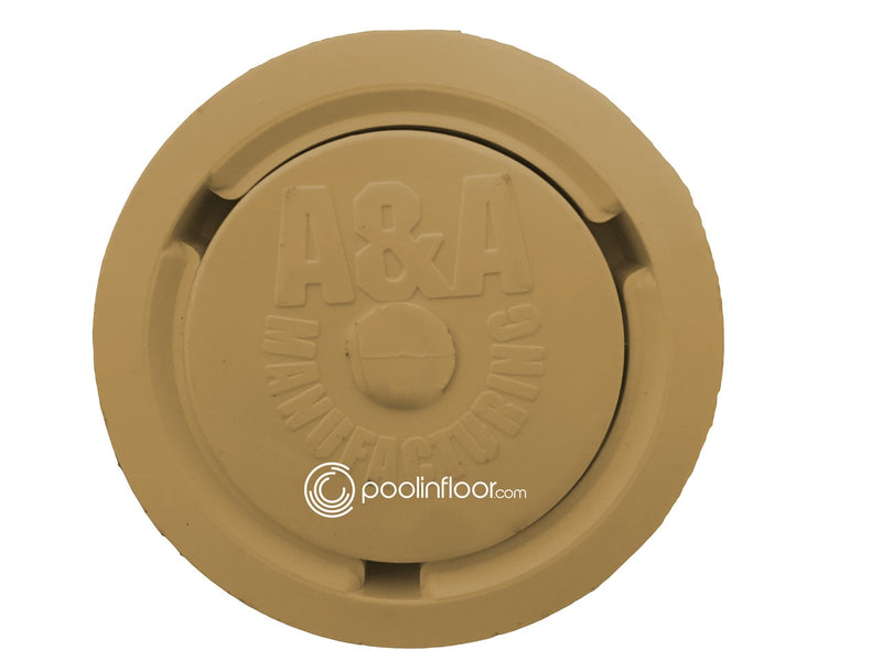 A&A Style 2 Low Flow Pop Up Head (Gold) - ePoolSupply