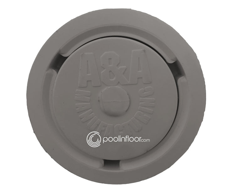 A&A Style 2 Low Flow Pop Up Head (Gray) - ePoolSupply