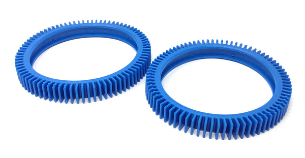 Hayward Poolvergnuegen No Hump Tire (Back) Replacement, Lt. Blue (2-Pack) - ePoolSupply