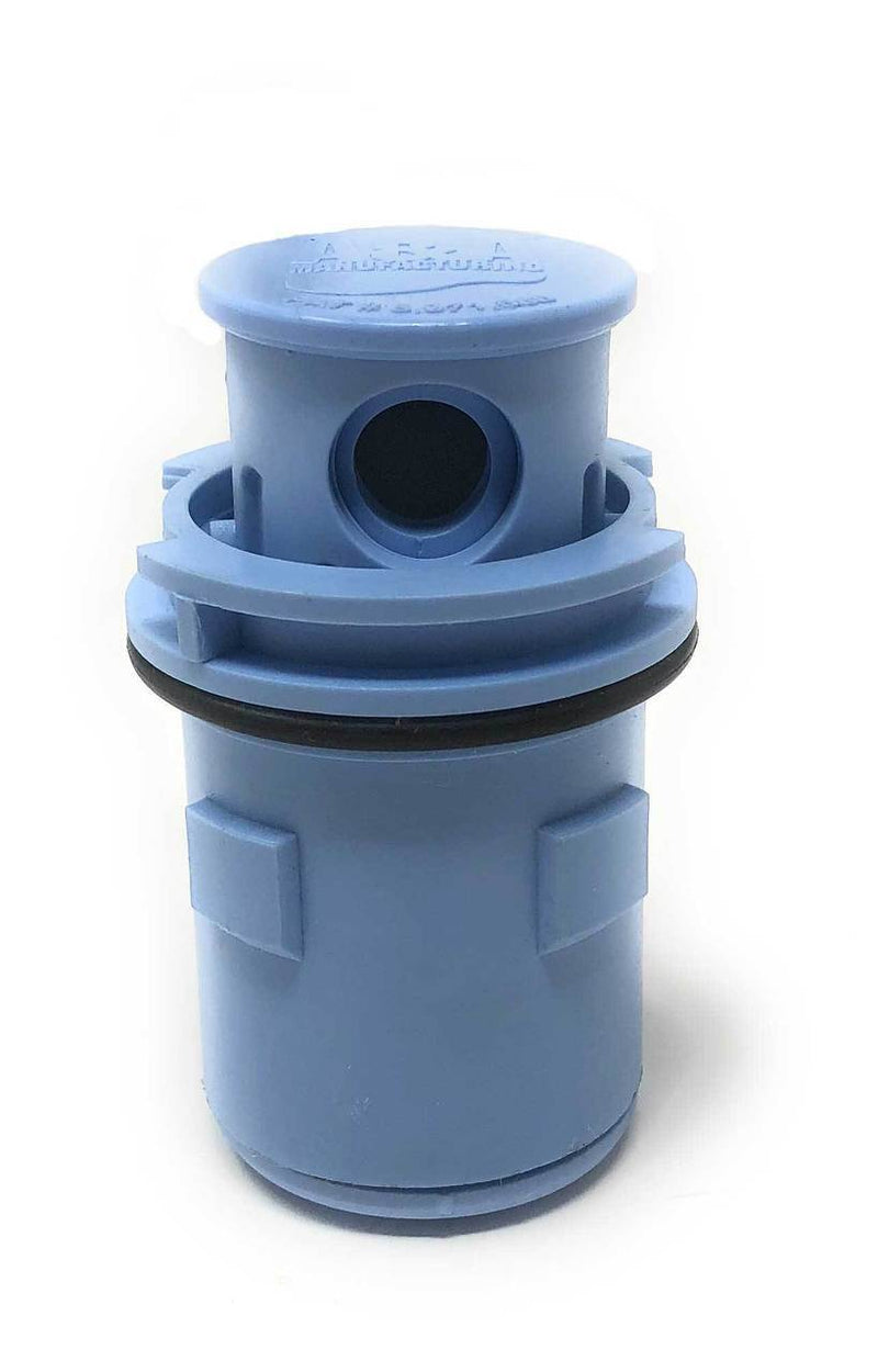 A&A Gamma Series 4 Adjustable Flow Pop Up Head (Euro Blue) - ePoolSupply