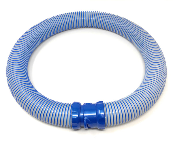 Zodiac MX8 / MX6 Elite and Original Models / TR2D Twist Lock Hose- 1 Meter, Blue/Gray, 12PK - ePoolSupply