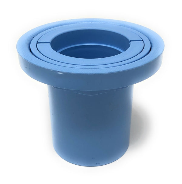 Blue Square Q360 Pop Up Head Vinyl Collar (Blue) - ePoolSupply