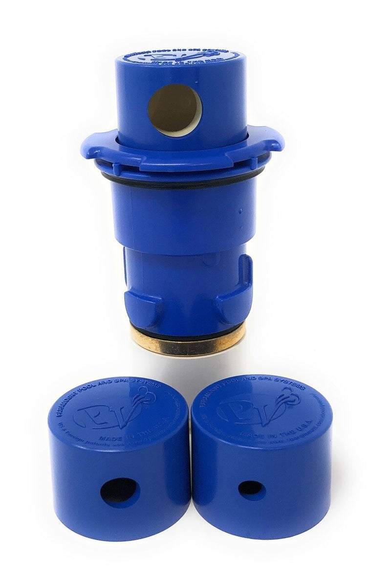 Paramount PV3 Pop Up Head with Nozzle Caps (Blue) - ePoolSupply