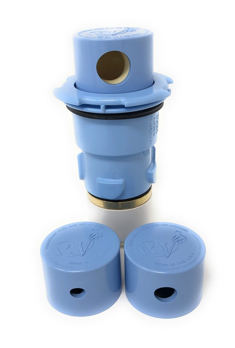 Paramount PV3 Pop Up Head with Nozzle Caps (Light Blue) - ePoolSupply