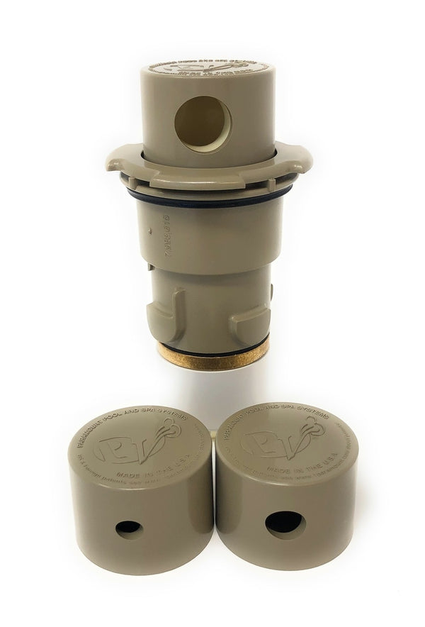 Paramount PV3 Pop Up Head with Nozzle Caps (Beige) - ePoolSupply