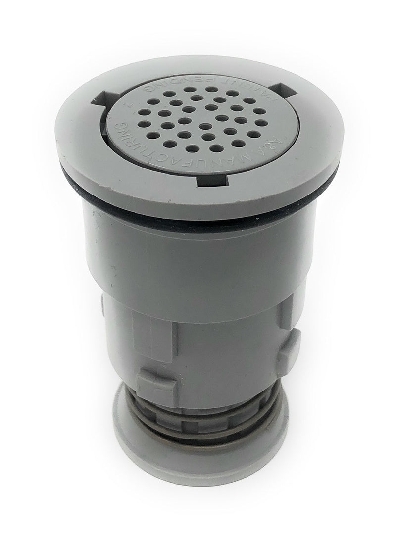 A&A Gamma 2 Venturi Pop Up Head (Light Gray) - ePoolSupply