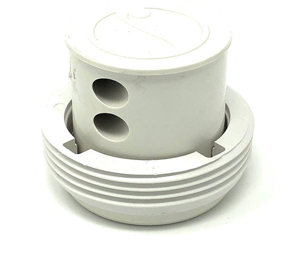 Paramount Pool Valet 2 Hole Pop Up Head (White) - ePoolSupply