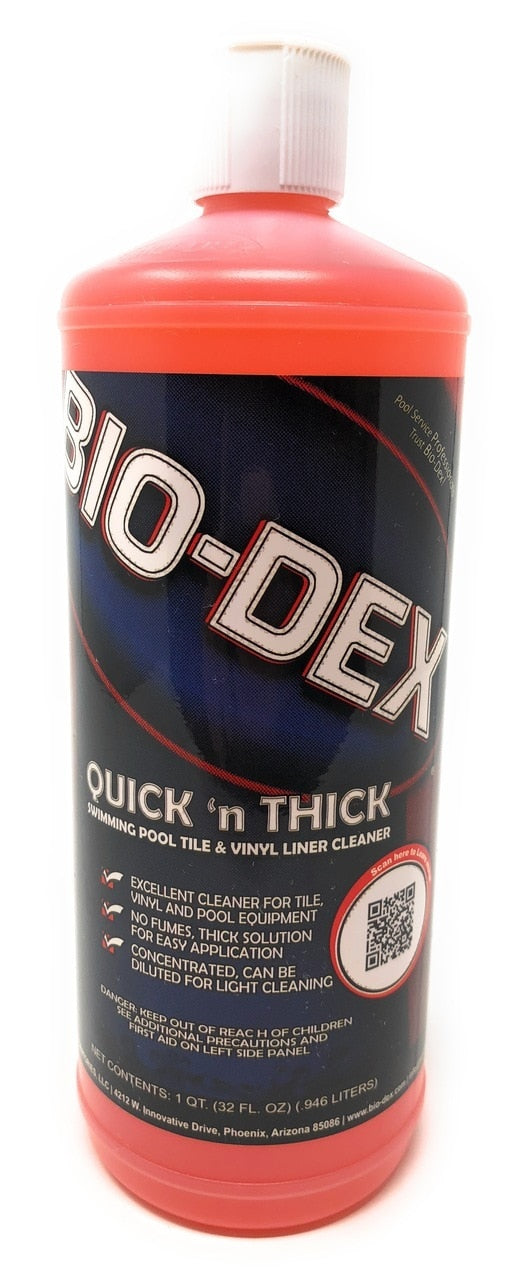 Bio-Dex Laboratories Quick 'n Thick Cleaner (32 Oz.) - ePoolSupply