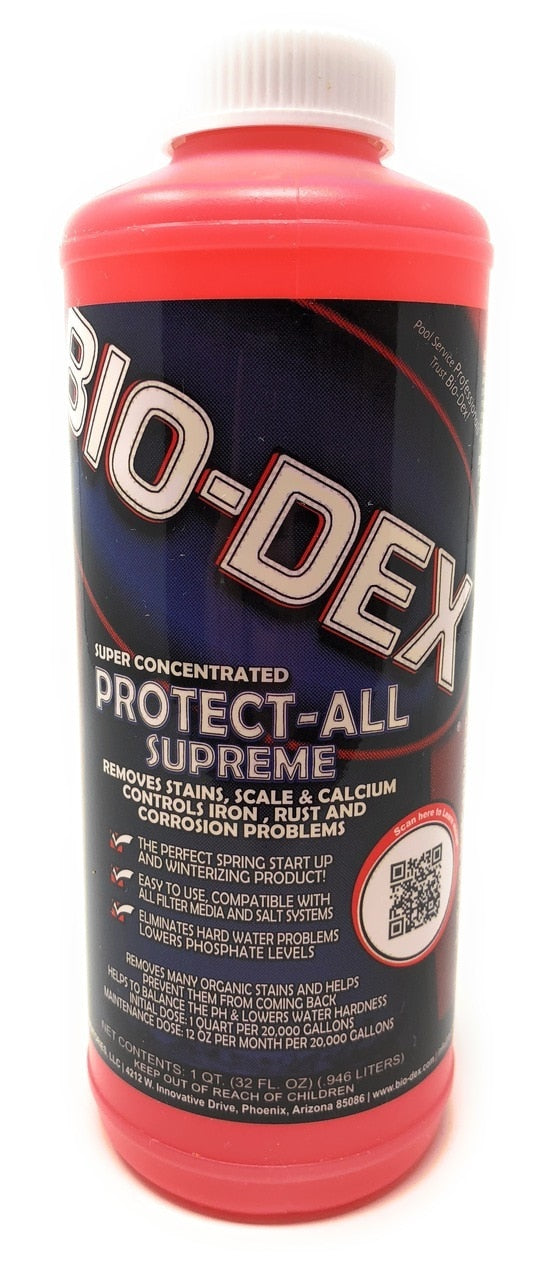 Bio-Dex Laboratories Protect All Scale Control (32 Oz.) - ePoolSupply