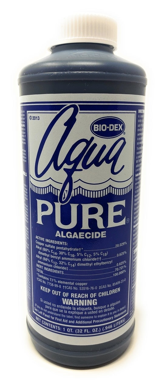 Bio-Dex Laboratories Aqua Pure Algaecide (32 Oz.) - ePoolSupply
