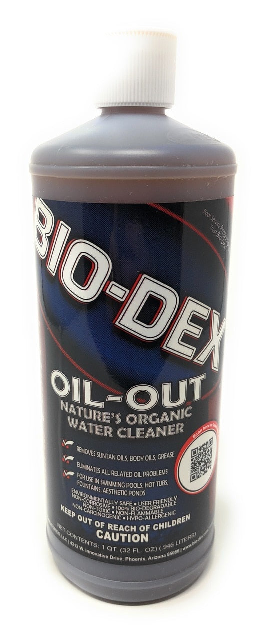 Bio-Dex Laboratories Oil-Out Enzyme (32 Oz.) - ePoolSupply