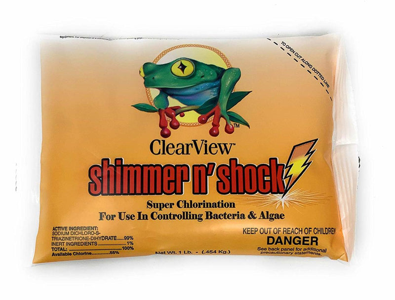 ClearView Shimmer N Shock Bag (1 LB) - ePoolSupply