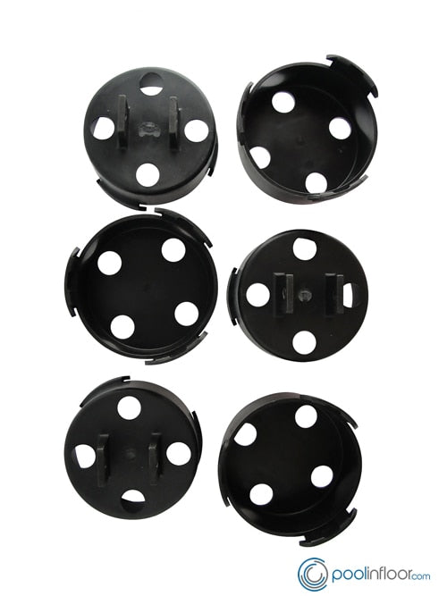 Paramount In-Floor Cleaning Head Tool- Large Nozzle Tool Replacement Heads (6 Piece) - ePoolSupply