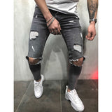 Calça Jeans Masculina Destroyer Full