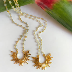 Sunny Crystal Necklace