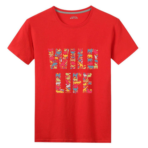 Wild Life - Gildan 76000 Cotton T-shirts