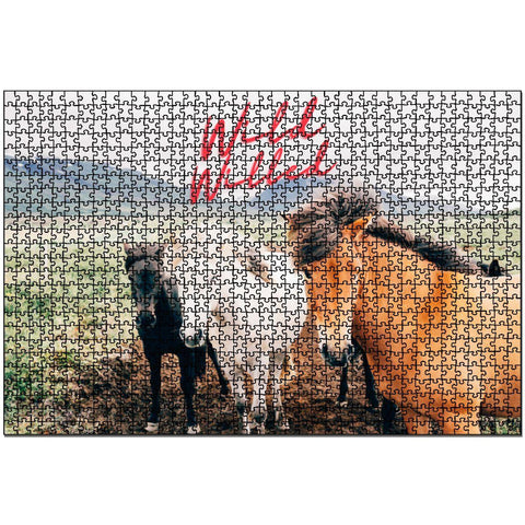 Wild Willed Wooden Jigsaw Puzzles 1000 Pieces