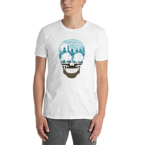 Skull City Short-Sleeve Unisex T-Shirt