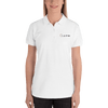 L & M Kee Embroidered Women's Polo Shirt