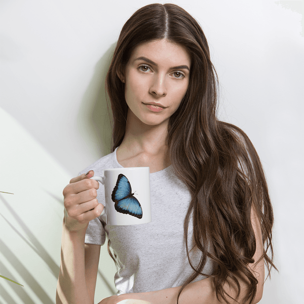 Sky Butterfly Coffee Cup