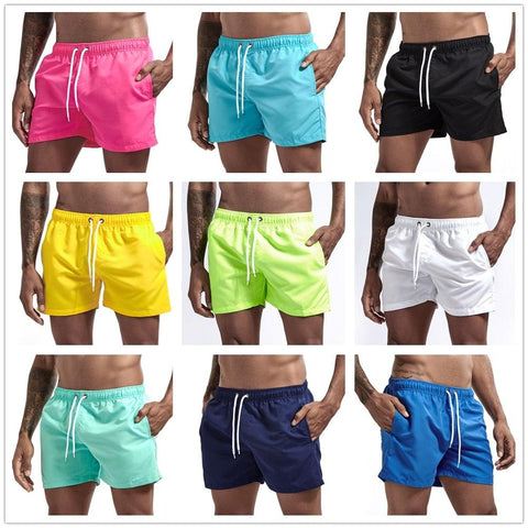 Men's Pocket Swimming Shorts For Beach Wear