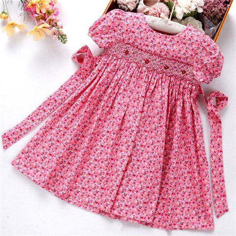 Flower Frock Smocked Dresses