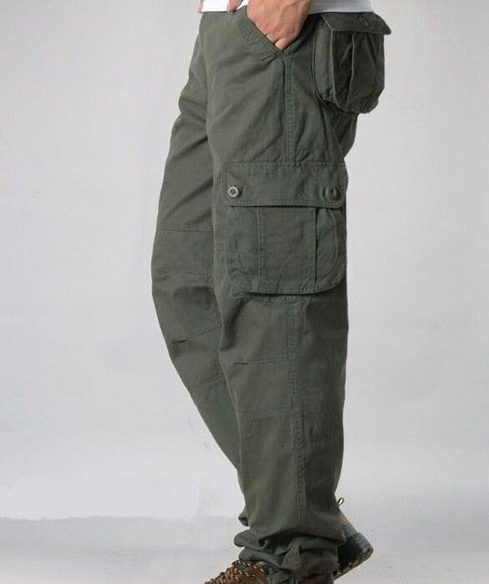 Men's Cargo Pants  Multi Pockets Military Tactical Pants