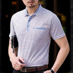Men's Summer Casual Business Style Polo Shirts