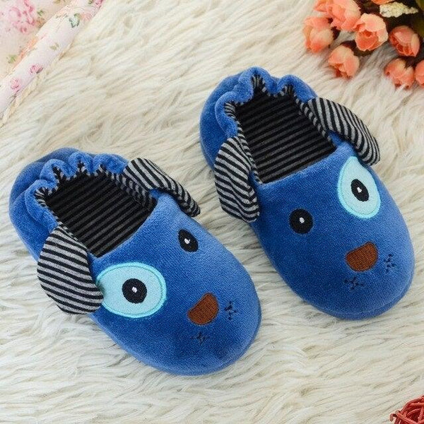 Kids Cartoon Children Winter Slippers