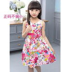 Rosy Flower Print Dress