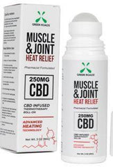 Green Roads Muscle & Joint Heat Relief Cream