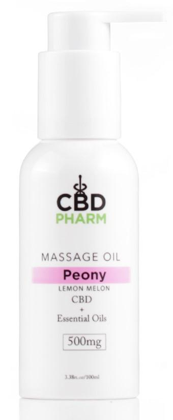 CBD Pharm CBD Massage Oil 500mg (SELECT PIC FOR MORE OPTIONS)****