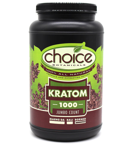 Choice Botanicals 1000 Jumbo  Count Capsules
