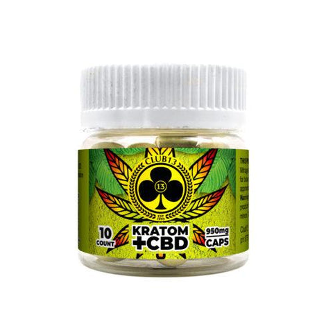 Club13  Kratom + CBD 950mg